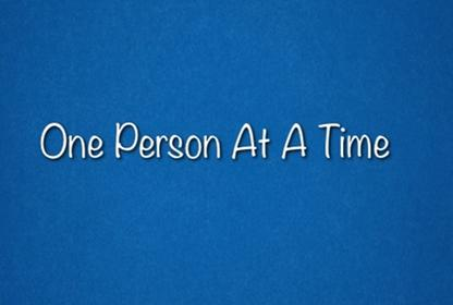 One Person At A Time Raffle October 31 2014